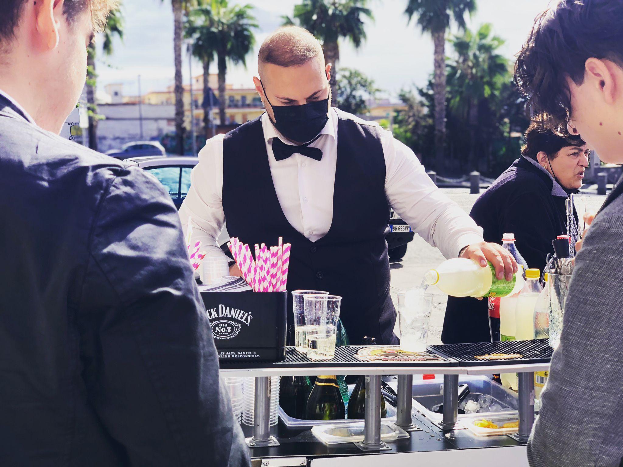Barman catering