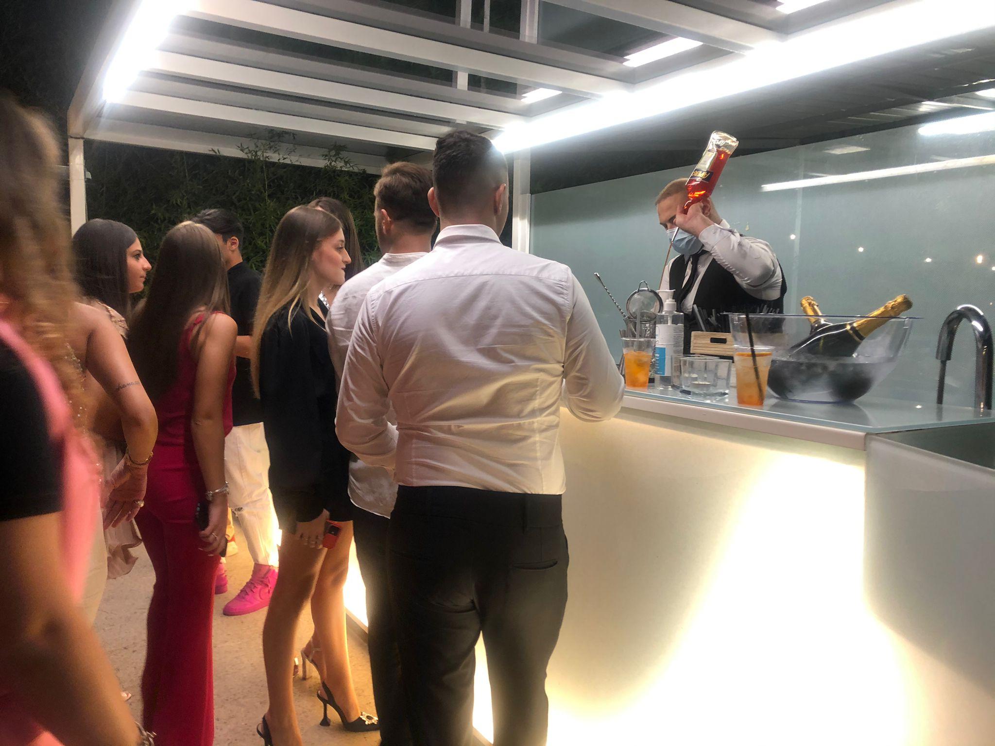 Bar cocktails per eventi